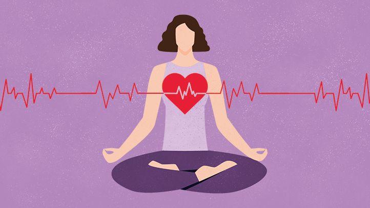 تأثیر مدیتیشن روی سلامت قلب و عروق