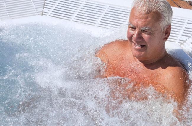 سلامت قلب را با حمام رفتن افزایش دهید